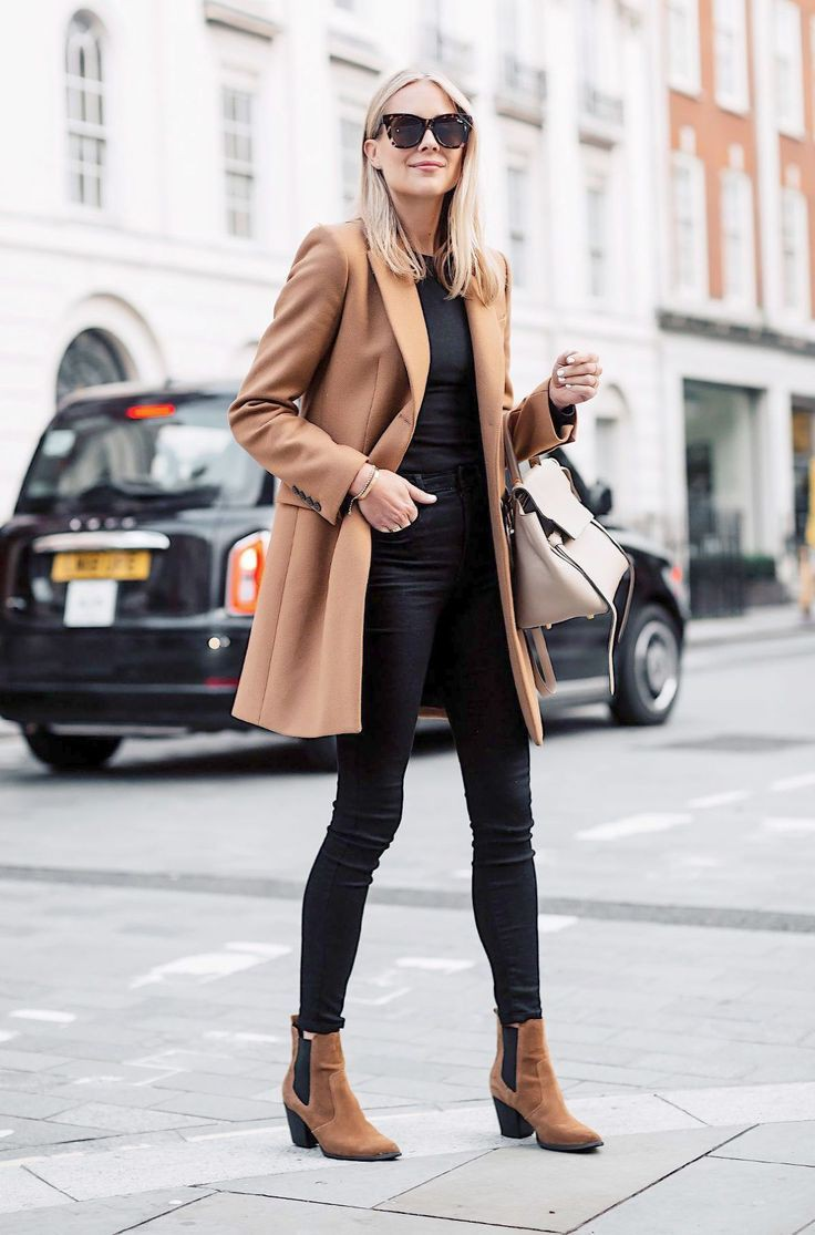 Classic ideas to try camel coat outfit, Polo coat