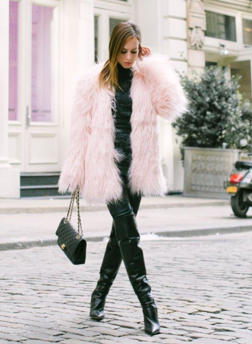Perfect photos of faux fur outfits, Fur clothing