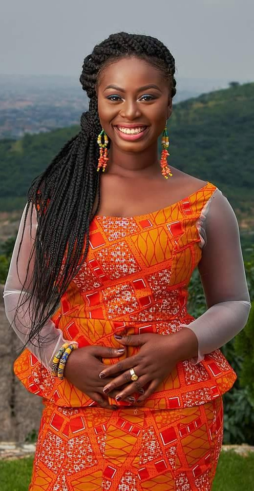 Party outfits for ghanaian kaba styles, African wax prints