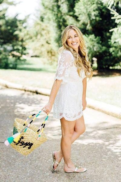 Summer casual dresses amd flip flops