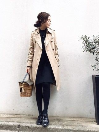 Just have a look trench coat, Pea coat
