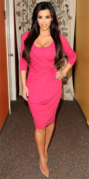 Best and stylish kim kardashian 2010 dresses, Little black dress