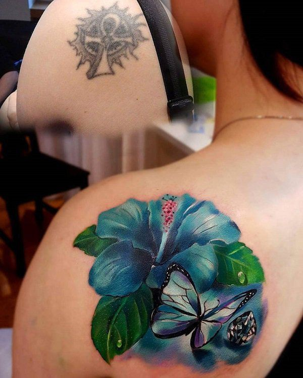 Cover up back tattoos, Sleeve tattoo
