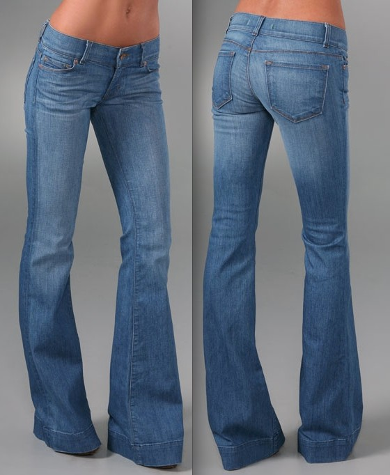 Out of the world bell bottom jeans, Bell Bottom Blues