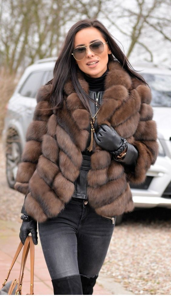 This is really amazing mink jacket fashion, Fur clothing