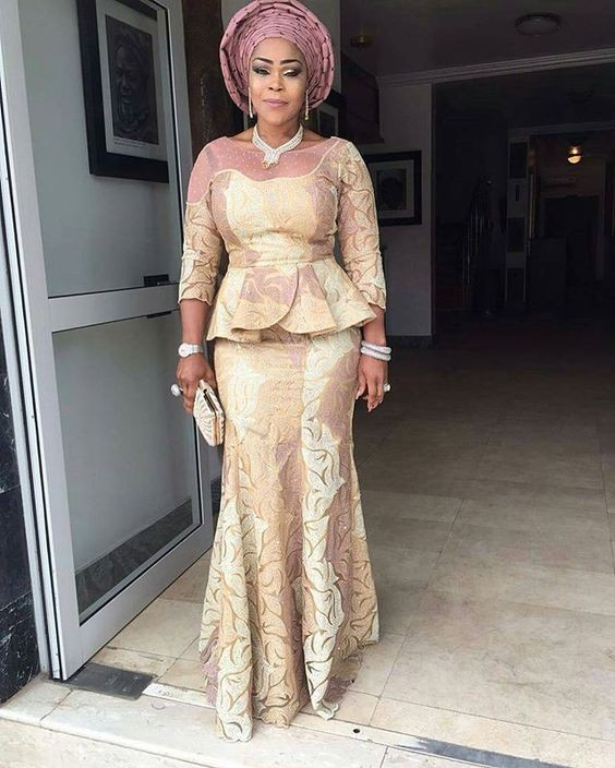 African lace dresses styles 2018, Aso ebi