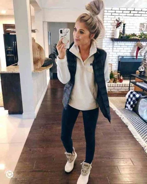 Fall Outfit Ideas For Women, Casual wear, Slim-fit pants