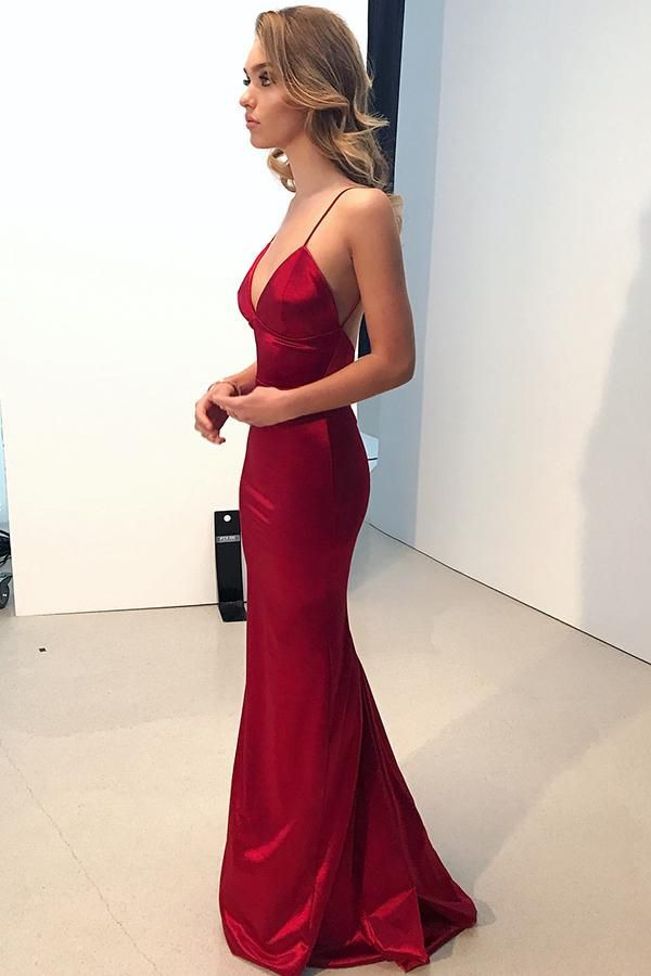 Elegant ideas for red prom dress, Dress the Population