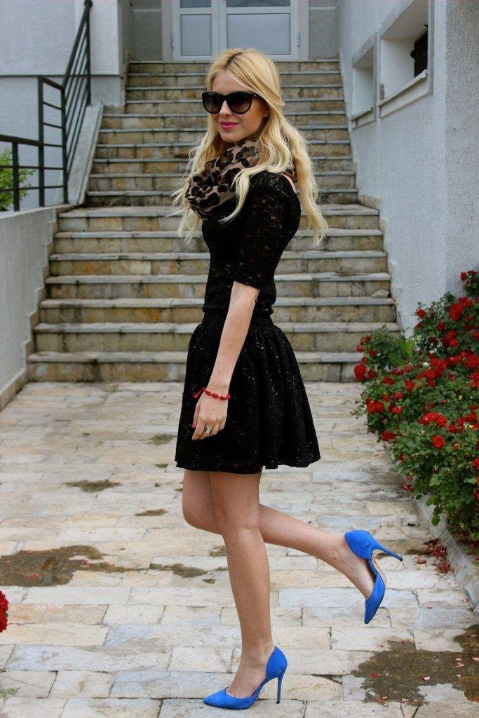 Black dress blue shoes, Dress shoe