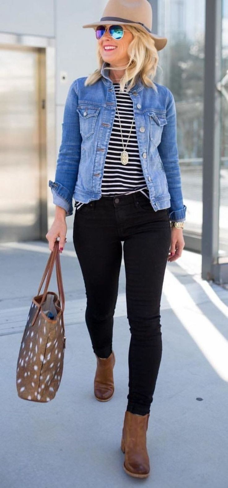 Denim Jacket Black, Ralph Lauren Corporation