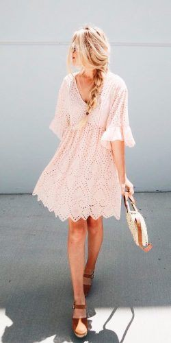 Summer wedding guest dresses with sleeves