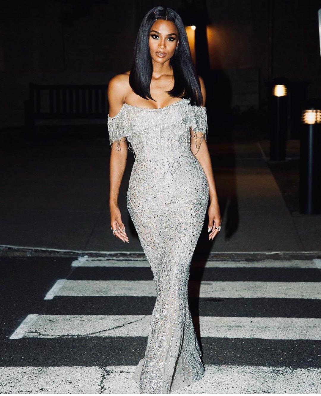 Ciara black girls rock dress