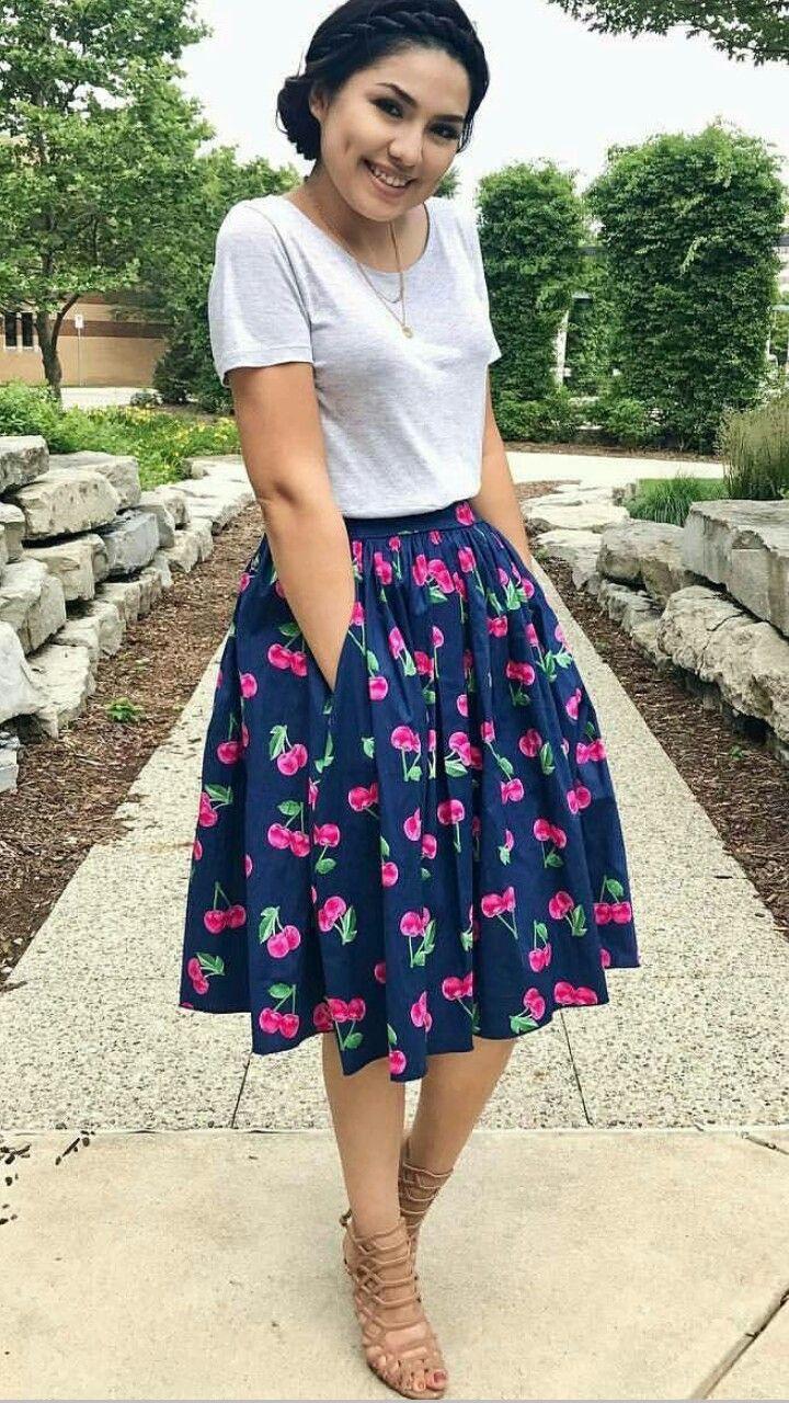 Beauty wear saias para igreja, Saia Longa