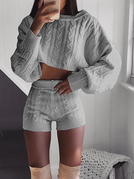 Stylish Cropped Sweaters Outfits, Crop top