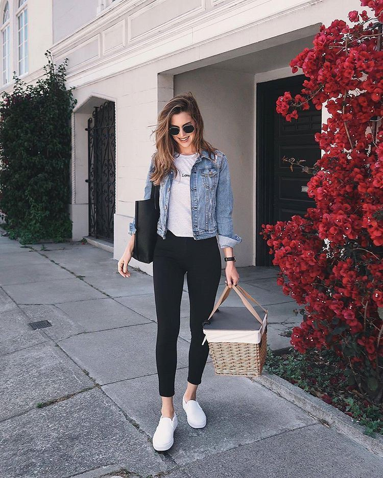 Outfit trends for picnic outfit jeans, Jaqueta Jeans Feminina