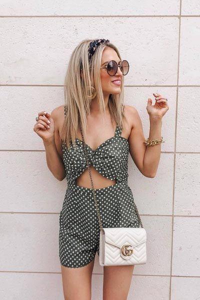Cute Outfit Ideas For Teenage Girl, Polka dot, Photo shoot