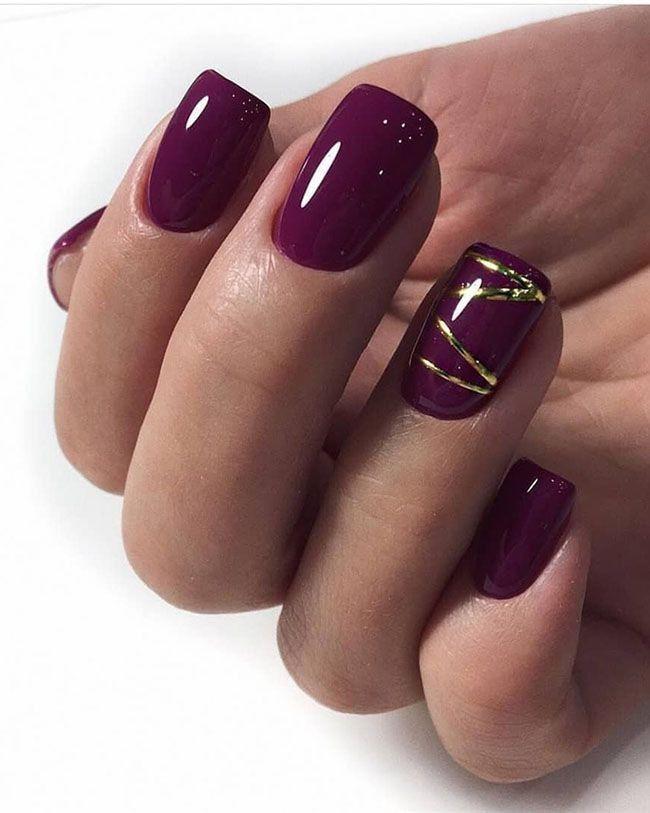 Trendy shellac nail designs 2019, Nail art