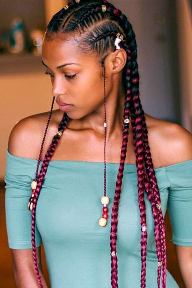 Most tired ideas for summer braid styles, Human hair color