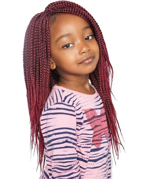 Easy to put together outfit. box braids kids, Artificial hair integrations