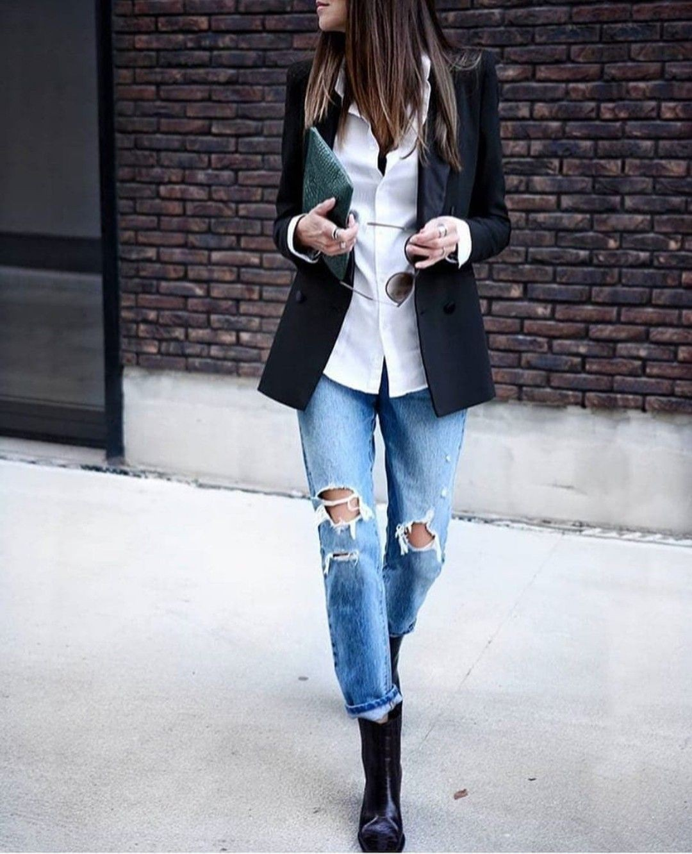 Cute Women Blazer Outfits