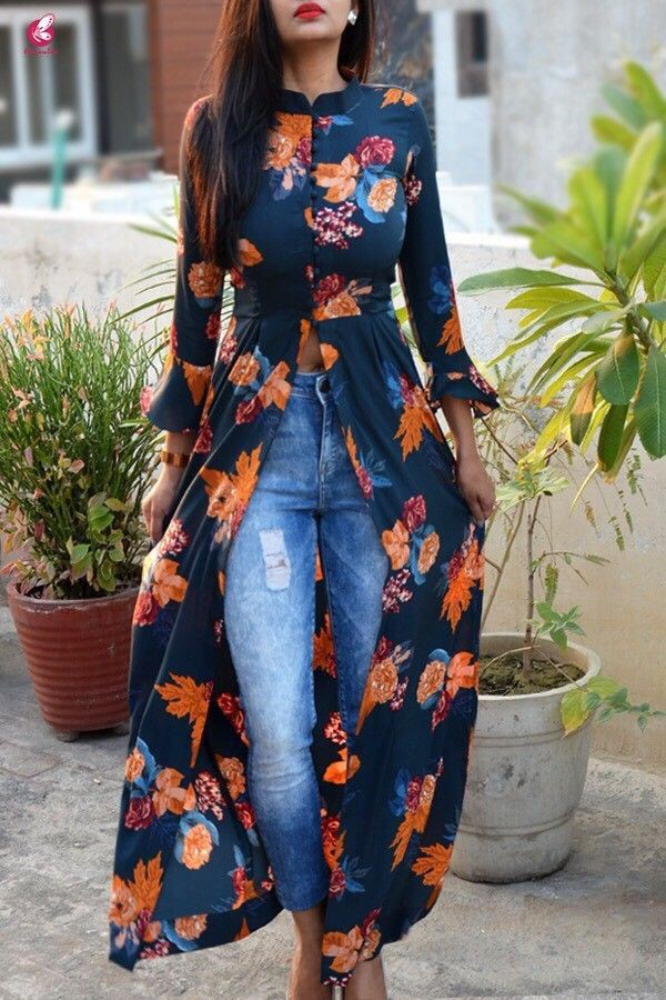 Summer Floral Dresses Ideas For Girls