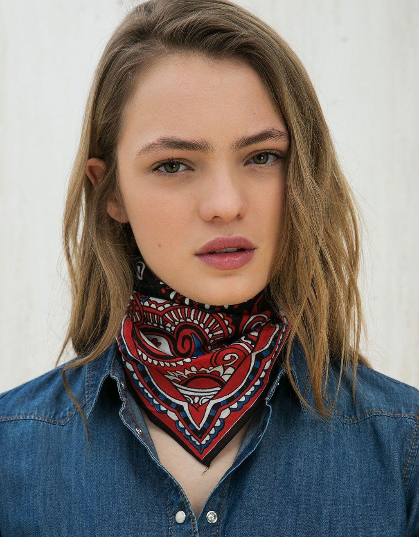 100 perfect images in 2019 bandana cuello, Fashion accessory
