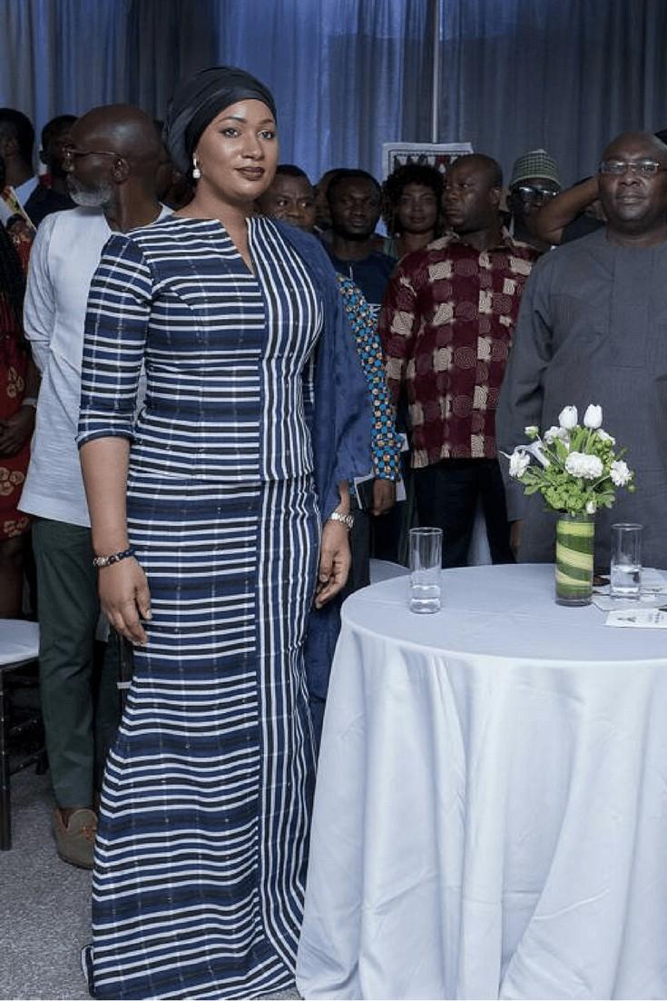 Samira bawumia kente styles