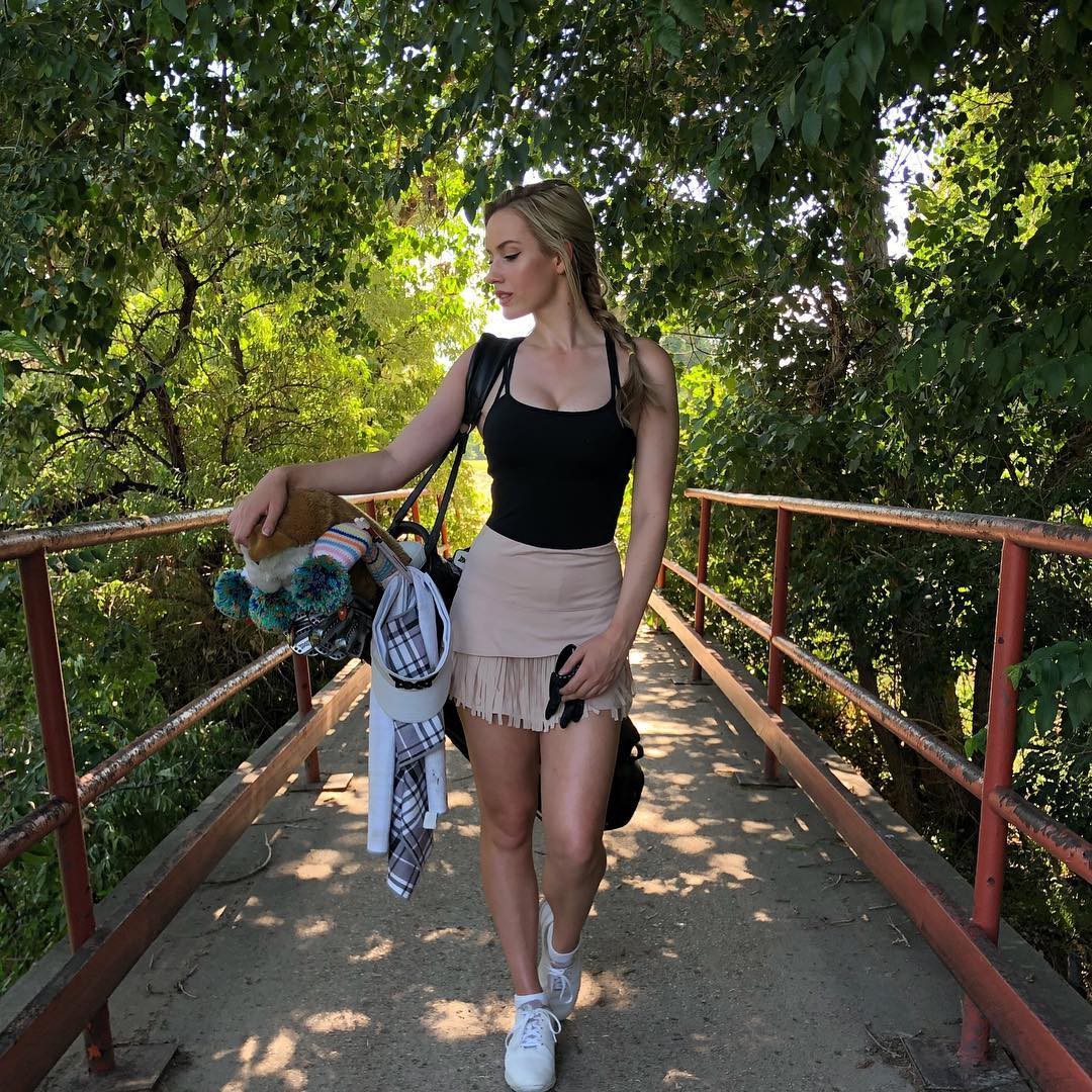 Paige Spiranac Instagram, VIALO GOLF EVENTS, Ibaraki Golf Club