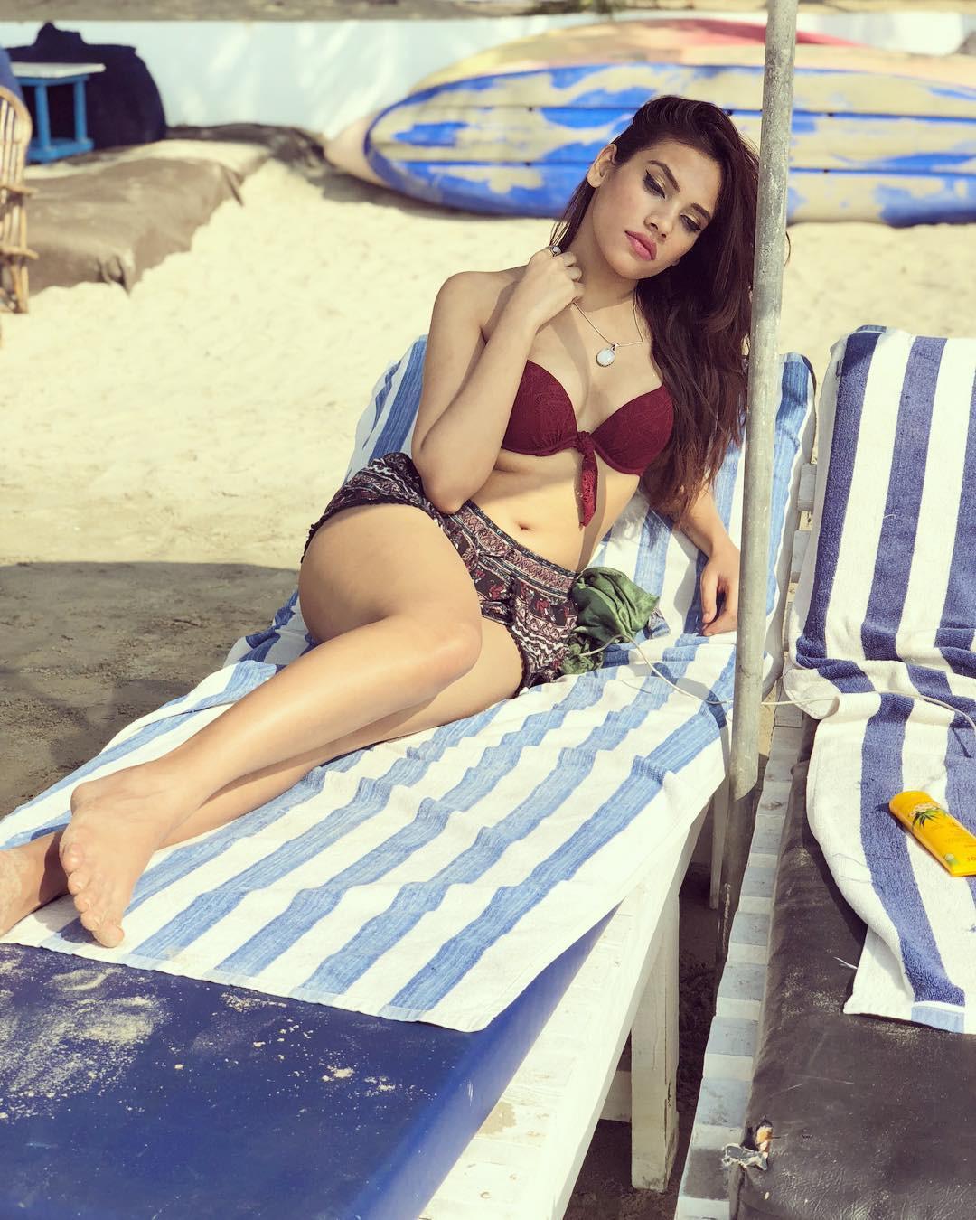 Purbasha Das Hot Bikini Pics