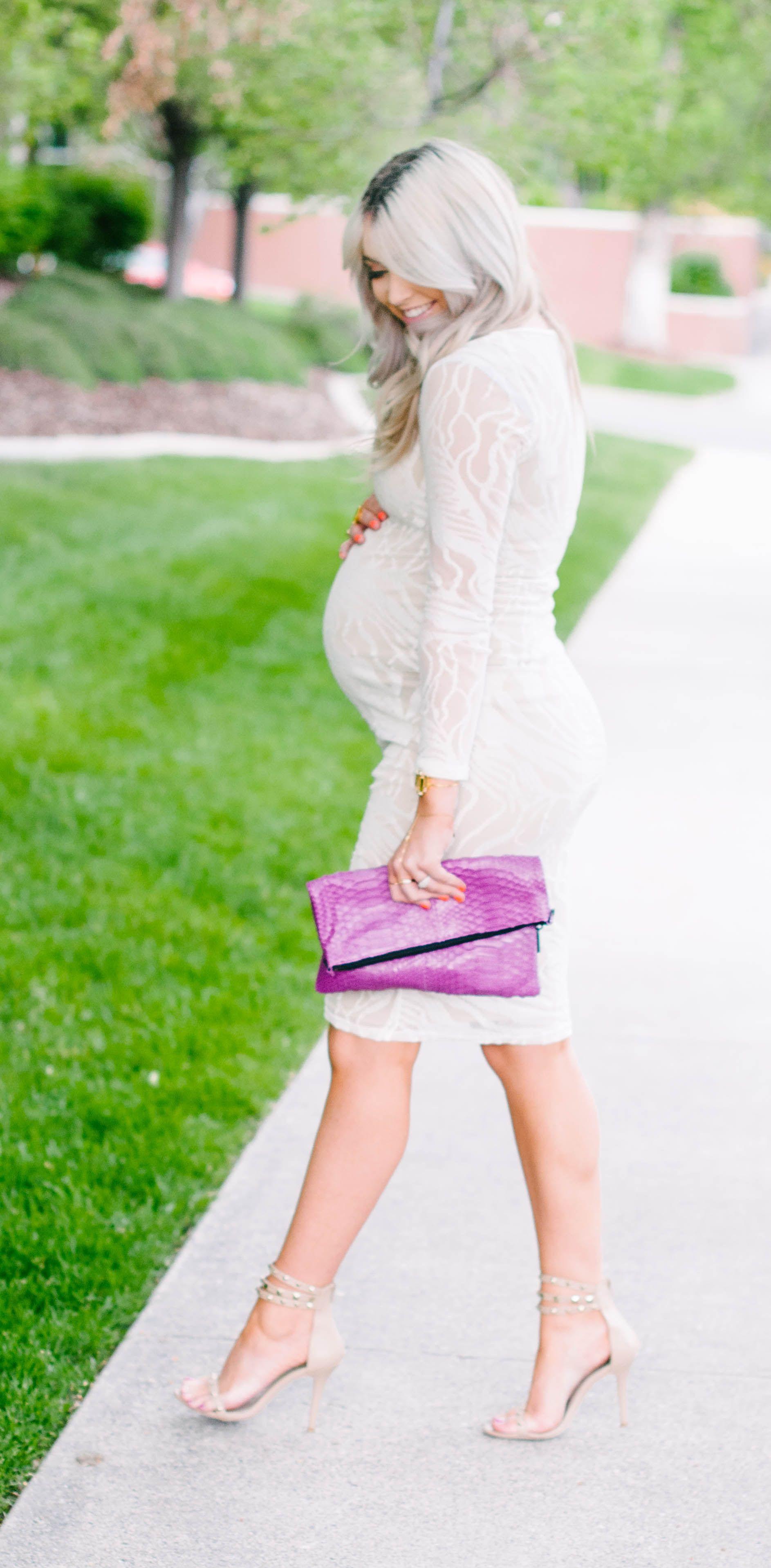 Vestidos para embarazadas al cuerpo