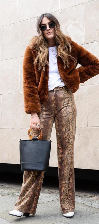 Inspiring designs for fur clothing, Long hair
