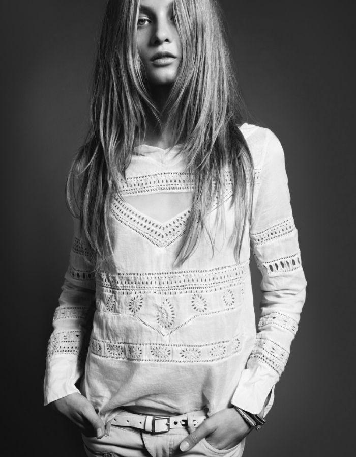 Long Hair Bohemia Hairstyle