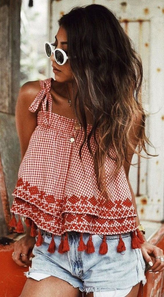Summer Cute Outfit Ideas For Teenage Girl, Crop top, Wedding dress