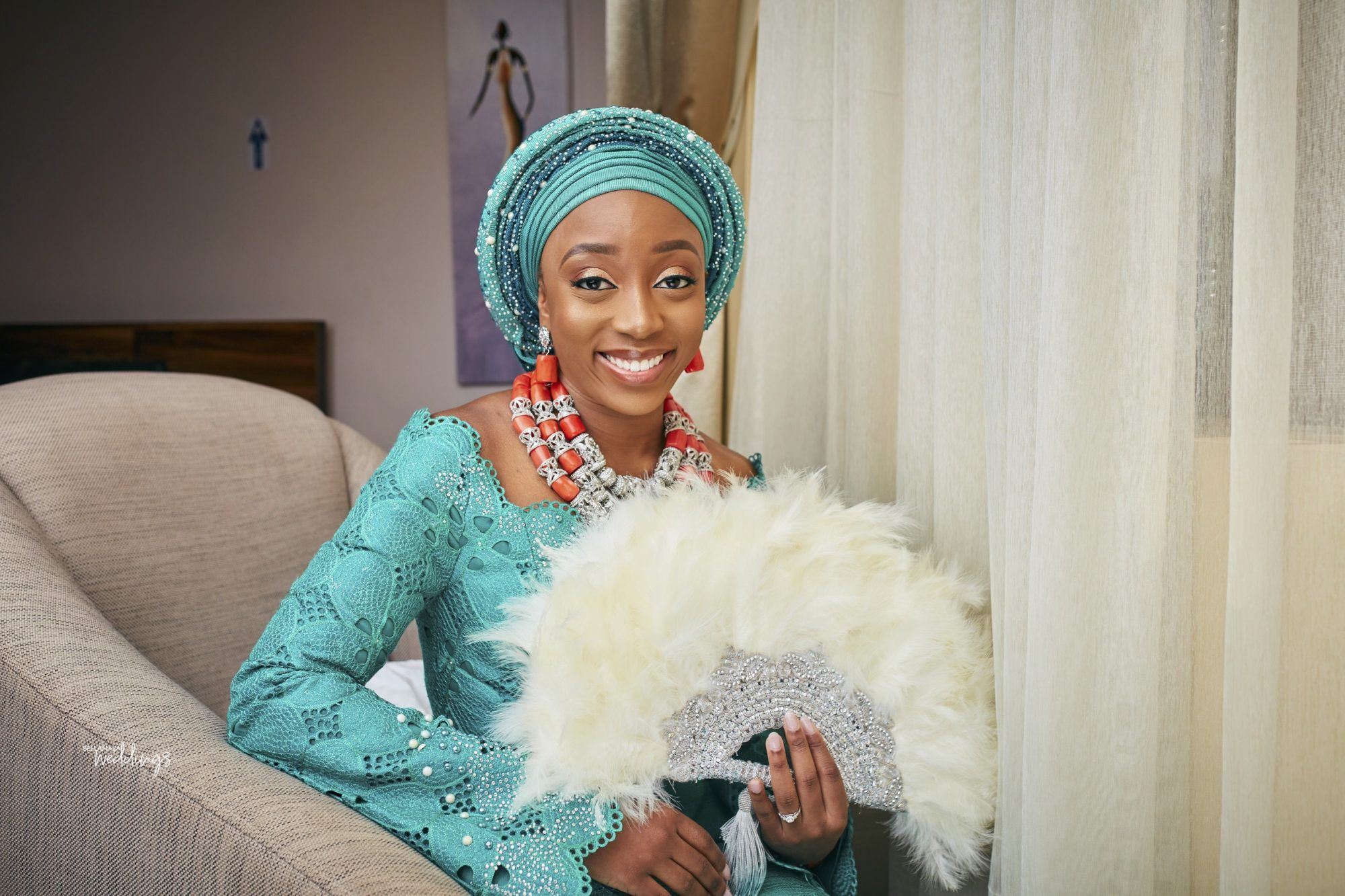 Nigerian Dresses For Nigerian Brides, The Vow Exchange, Wedding reception
