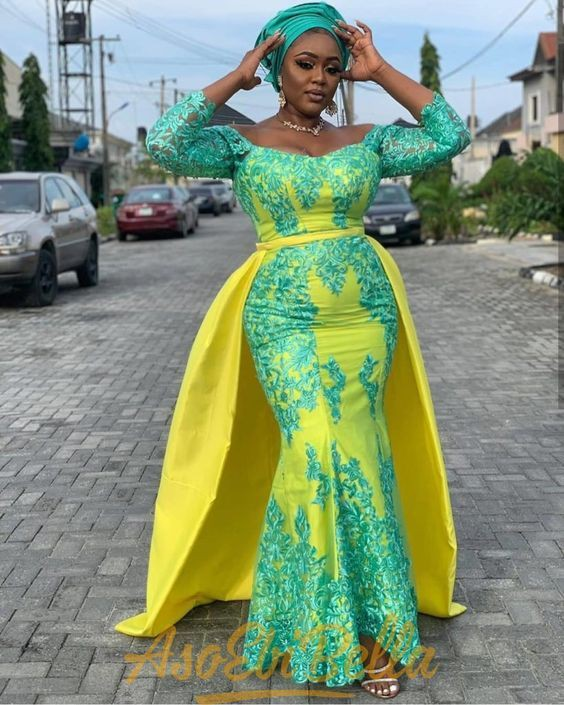 Lovely and desirable aso ebi styles, Aso Oke hat