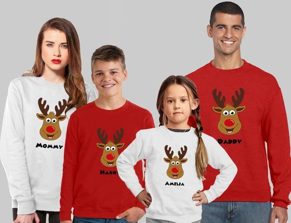 Nice to try things family christmas jumpers