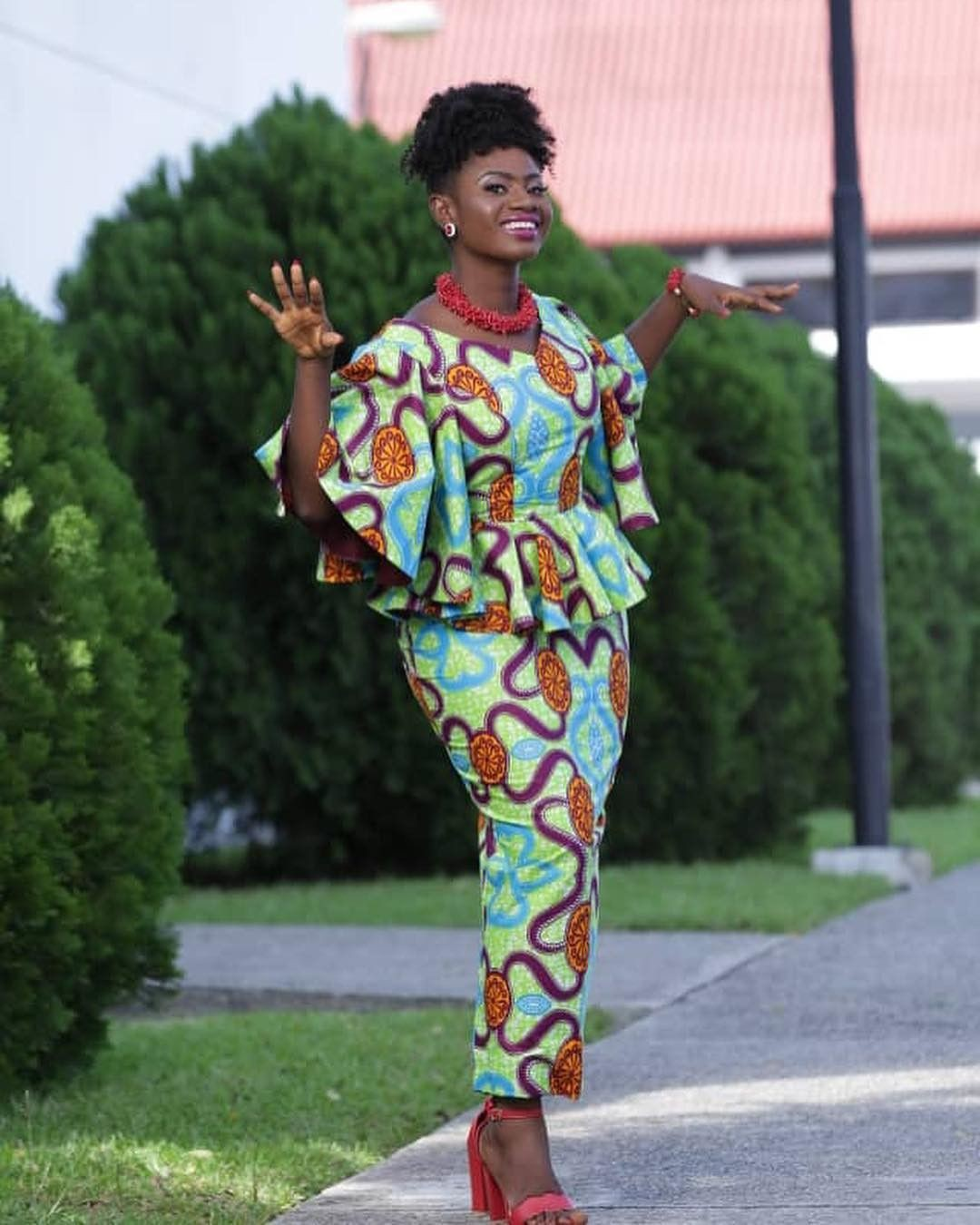 Latest Kaba And Slits Styles, African wax prints, African Dress