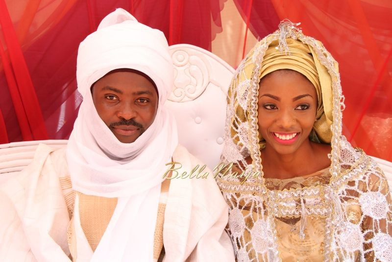 Proud to wear these hausa traditional wedding, Hausa people