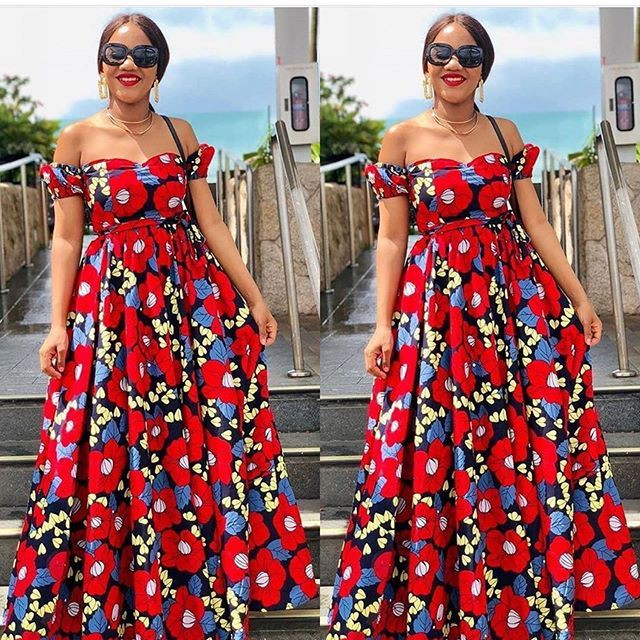 Ankara Gown Styles, Cocktail dress, Smart casual