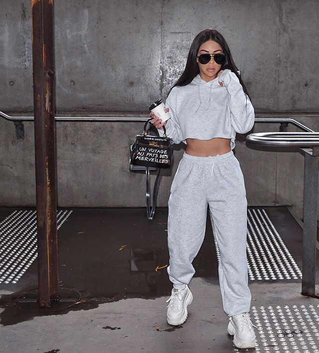 Outfits With Sweatpants, Casual wear, Missy Empire