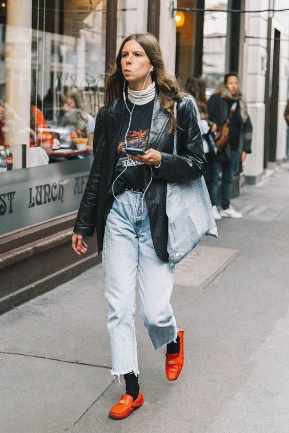 Dad jeans outfit women, Casual wear