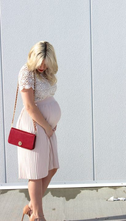 Outfit Ideas For Pregnant Ladies – Maternity Outfits, Maternity clothing, Wrap dress