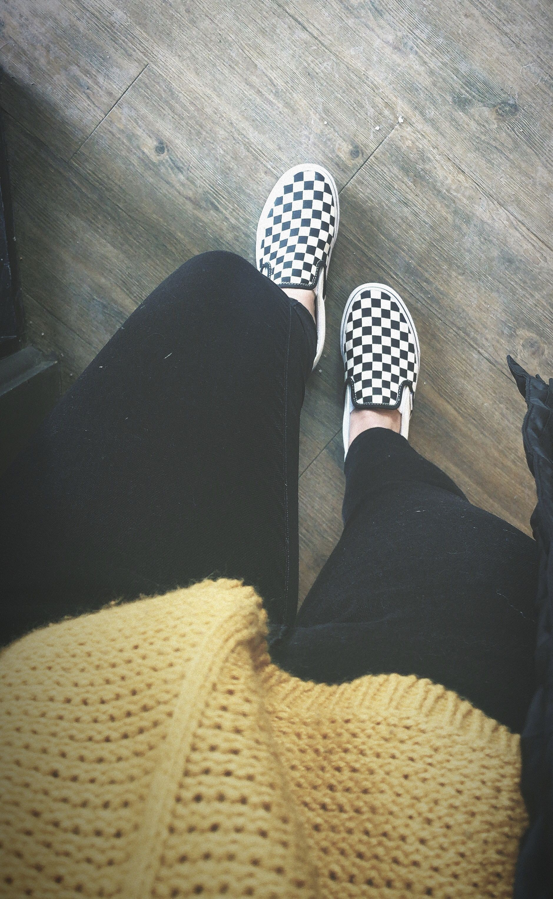Black And White Checkered Vans Outfits
