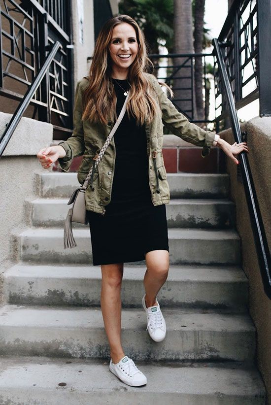 White sneakers outfit ideas, Casual wear