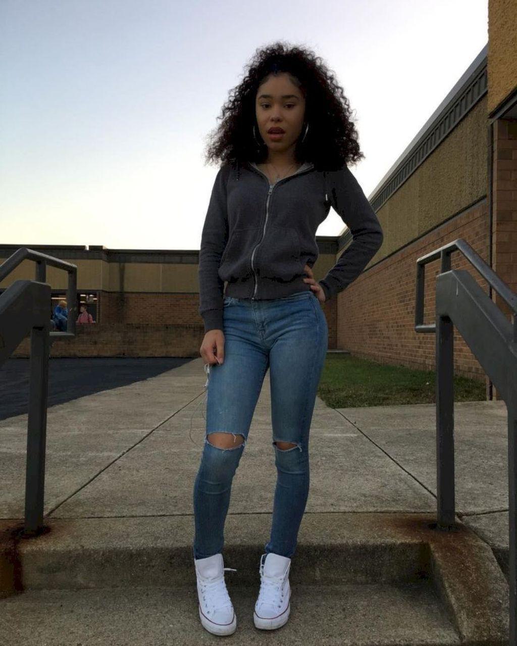 High school baddie fall outfits