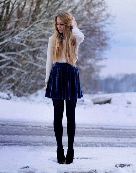 Cute Black Shorts - Black Skirt - Envelope Skirt - $39.00 | 725x570