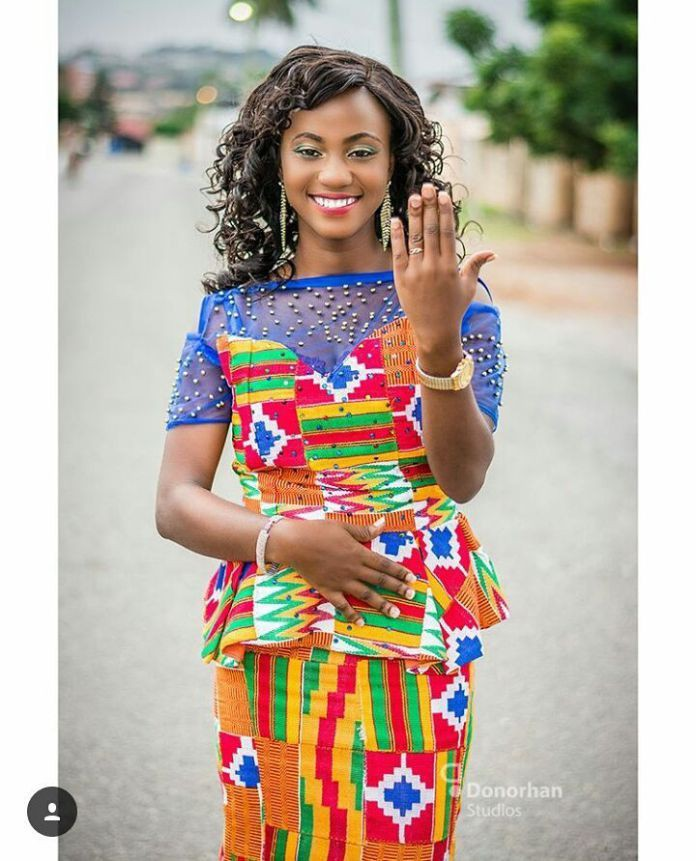 Nice and great ideas latest kente styles 2018, African wax prints