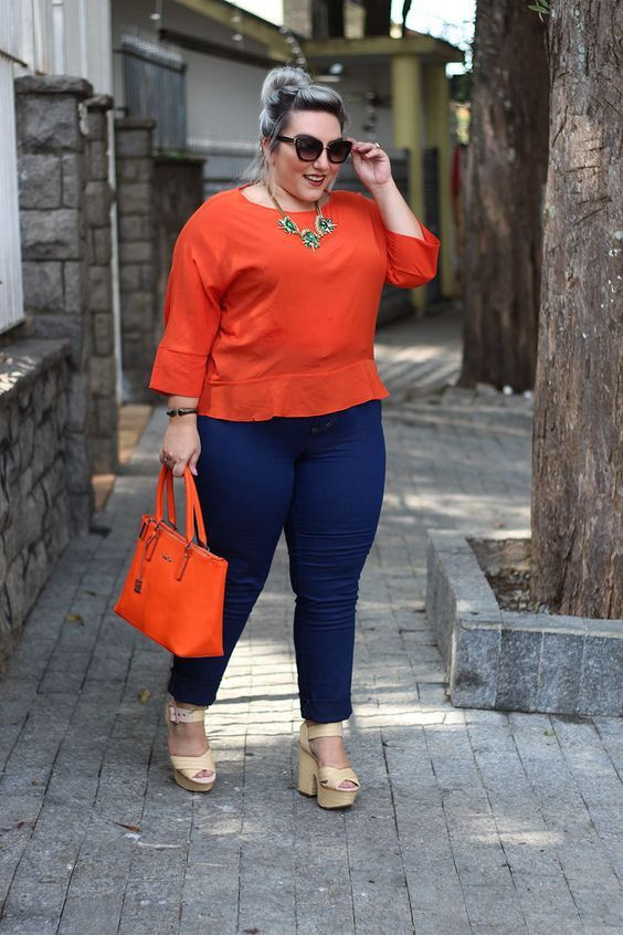 Outfit casual para gorditas Outfits