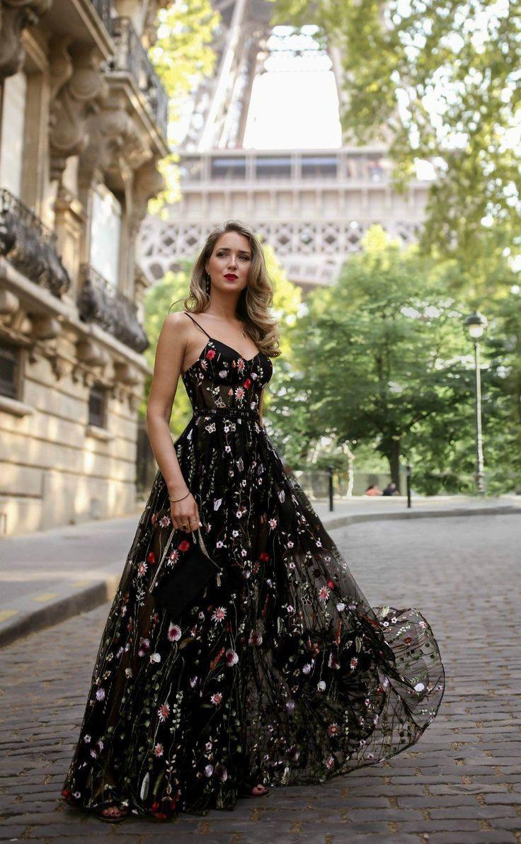 Discover these nice vestidos transparentes largos, See-through clothing
