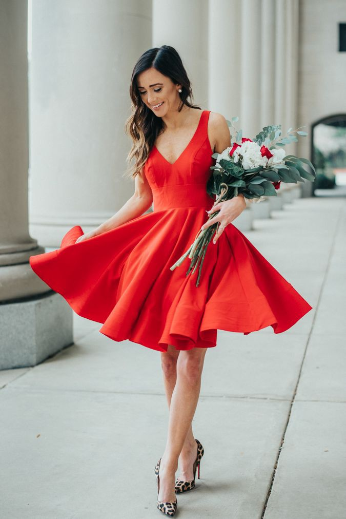 Nice and beautiful valentines day outfits, Bridesmaid dress